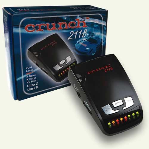 Описание Crunch 211B: Антирадар Crunch 211 серии BlackLine относится к...