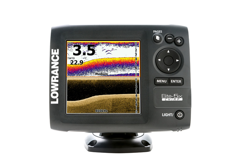 эхолот lowrance elite hook chirp