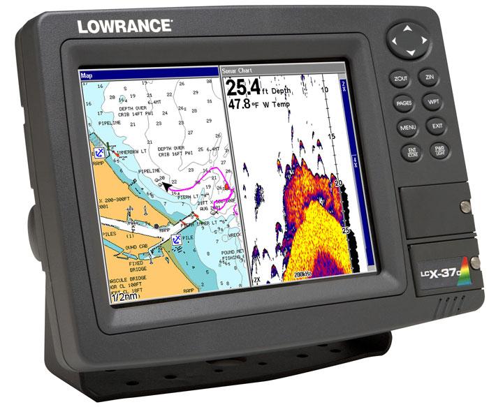 рыболовный навигатор с картами глубин