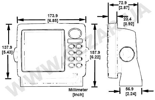 Lowrance X125 Инструкция