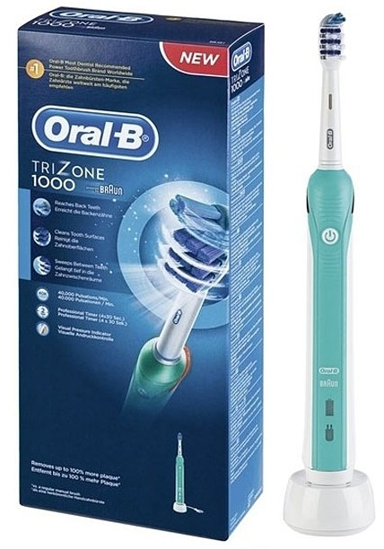 Зубная щетка braun oral b trizone