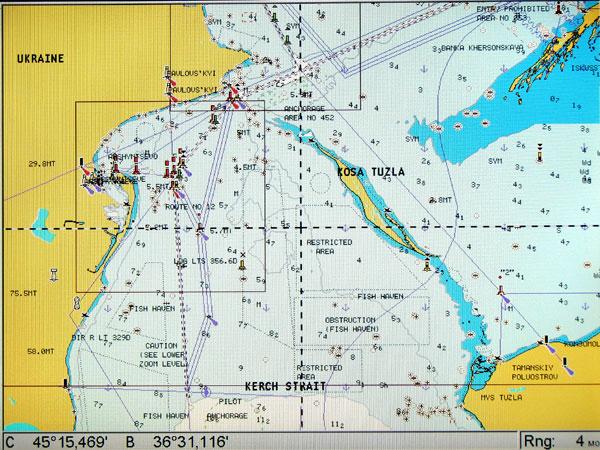 GPS-карта Lowrance NAVIONICS