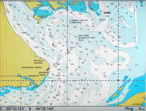 морские карты для lowrance