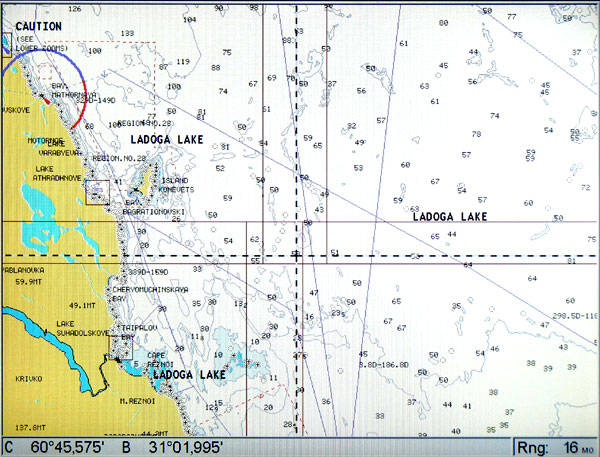 карты lowrance lcm