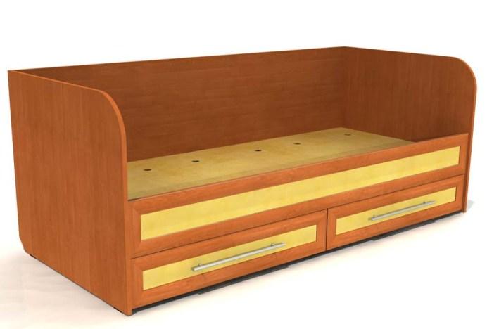 кровати для подростков с ящиками купить 800*1900.