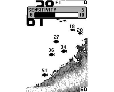 настройка эхолота humminbird 120
