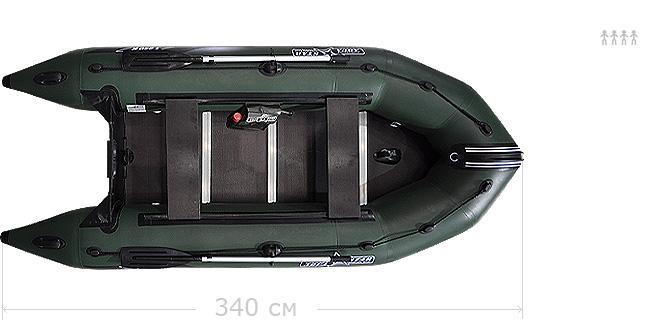 лодка аквастар к 350