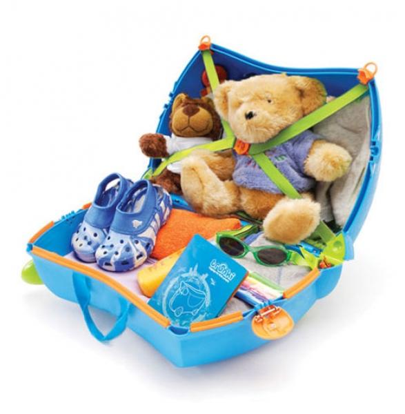 Trunki Детский дорожный чемоданчик Terrance (TRU-B054) купить в Киеве, цена в Украине, продажа, характеристики и описание - Ceza