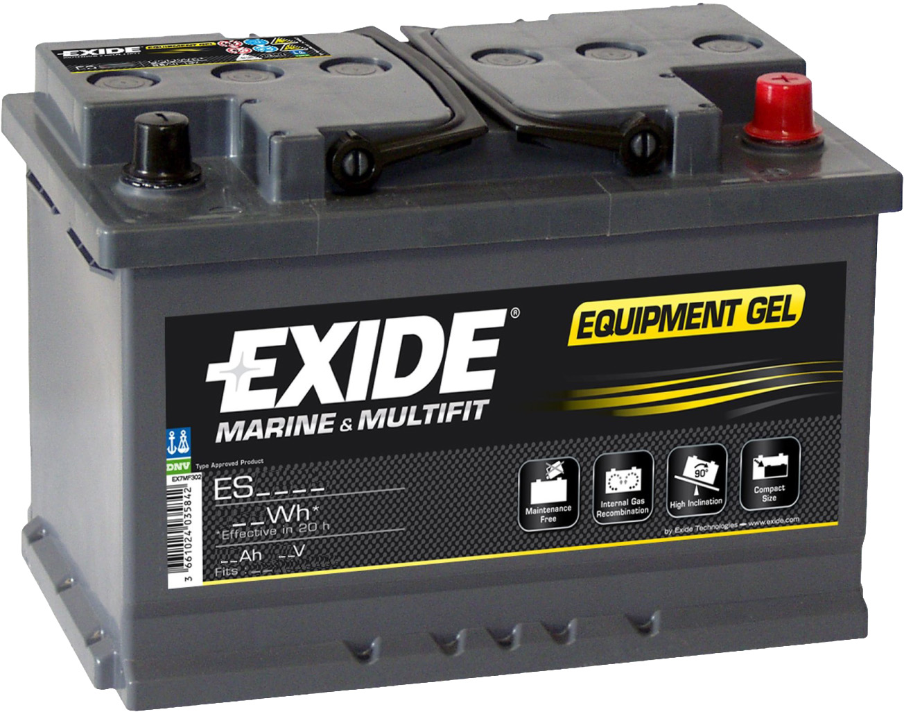 Аккумулятор Exide Equipment Gel ES900